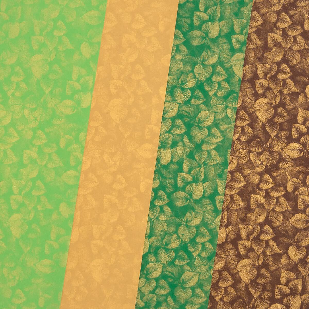 Disainpaber A4/200g 20L mix Green power