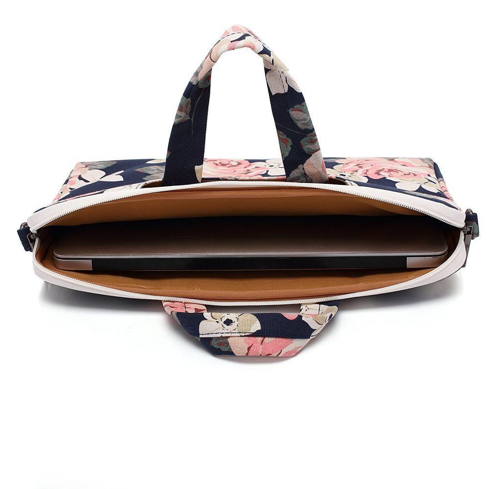 Sülearvuti kott Canvaslife Navy Rose 13-14''