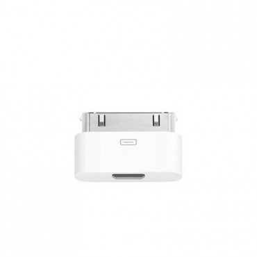 Adapter iPhone4/iPad to microUSB valge