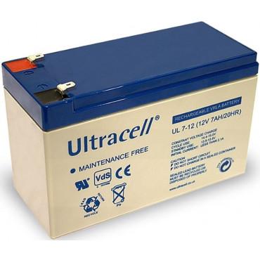 Aku 12V 7,0Ah Ultracell 151x65x95mm