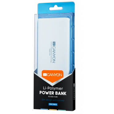 Akupank 10000mAh Canyon White