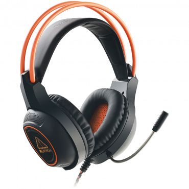 Kõrvaklapid+mik. Canyon GamingLED USB7.1