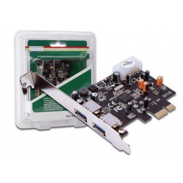 Kaart USB3.0 PCI-Express 2-port Digitus