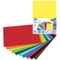 Värviline paber A4/130g 100L kollane