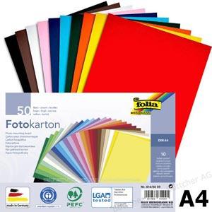 Värviline paber A4/130g 100L sinililla
