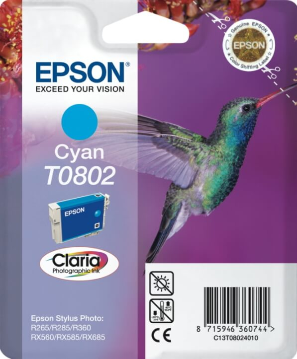 Tint Epson T0801 RX560 Black